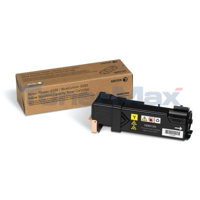 XEROX PHASER 6500 TONER CARTRIDGE YELLOW